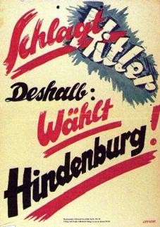 Spd Unterstützte Hindenburg Als Bollwerk Gegen Hitler