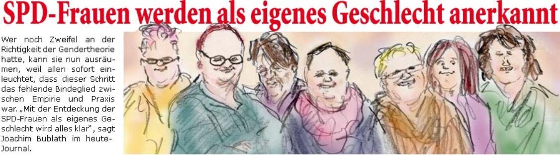 SPD-Frauen werden als eigenes Geschlecht anerkannt