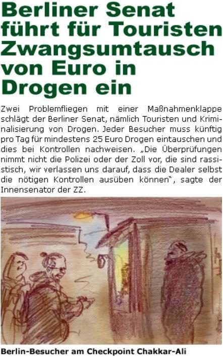 """Satire aus der """"ZellerZeitung"""""""